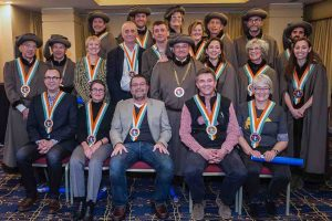 New inductees into International Cheese Guild