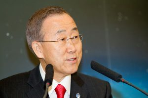UN's Moon joins IDF at World Dairy Summit