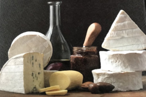 Triple cream cheese from Northern Irish dairy farm