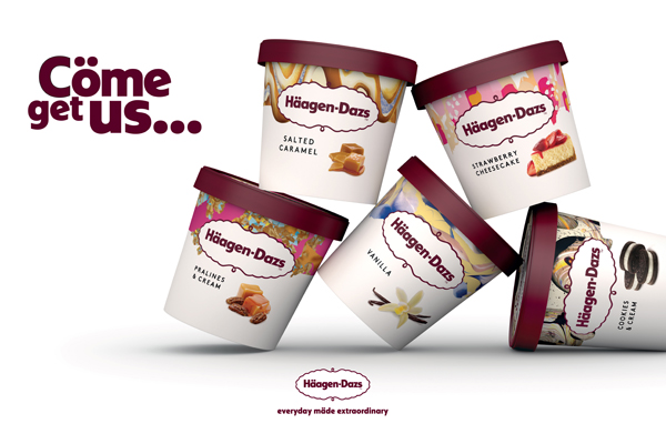 Häagen-Dazs launches UK brand reset