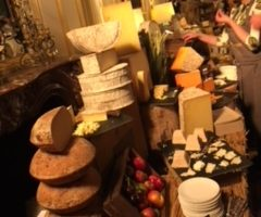 Ten metres of cheese and a baby