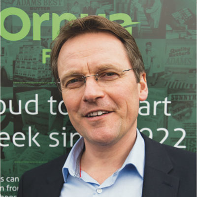 Hunter named as MD of Ornua Foods UK | Dairy Industries