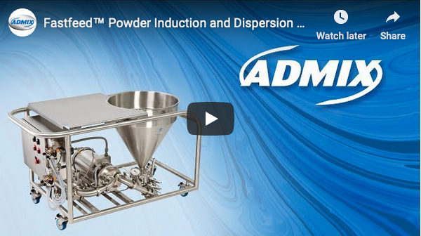 Fastfeed Powder Induction & Dispersion System