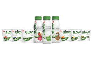 Alove launches Aloe vera yogurt drinks