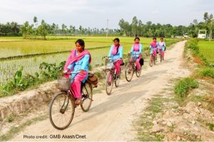 Empowering Bangladeshi women to bike nutrition to their nation