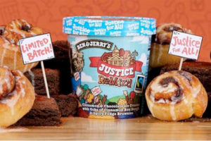 Politically motivated ice cream from Ben & Jerry's