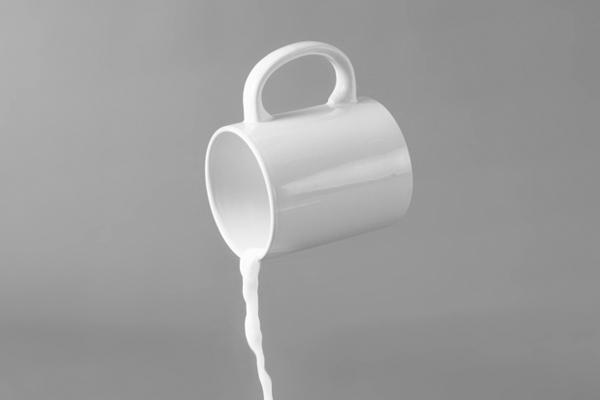 Reducing milk waste