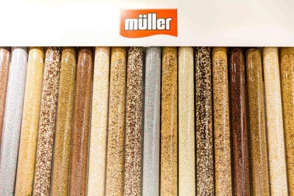 Müller invites people to create their own Müller yogurt