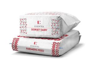 Paper sacks for dry goods