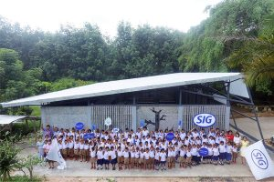 School 'eco-canteen' gives used cartons new lease of life