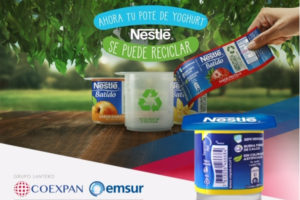 Emsur and Coexpan develop easy-to-recycle yogurt pots